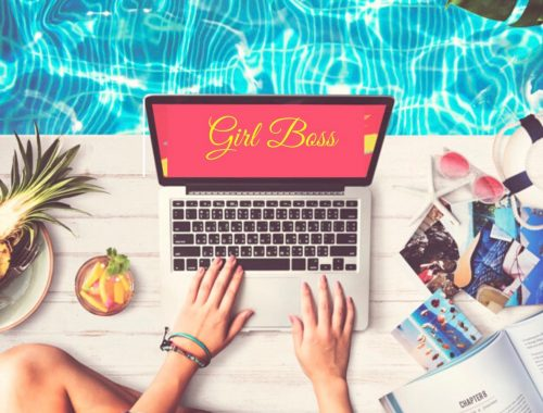 girl boss entreprendre business en ligne
